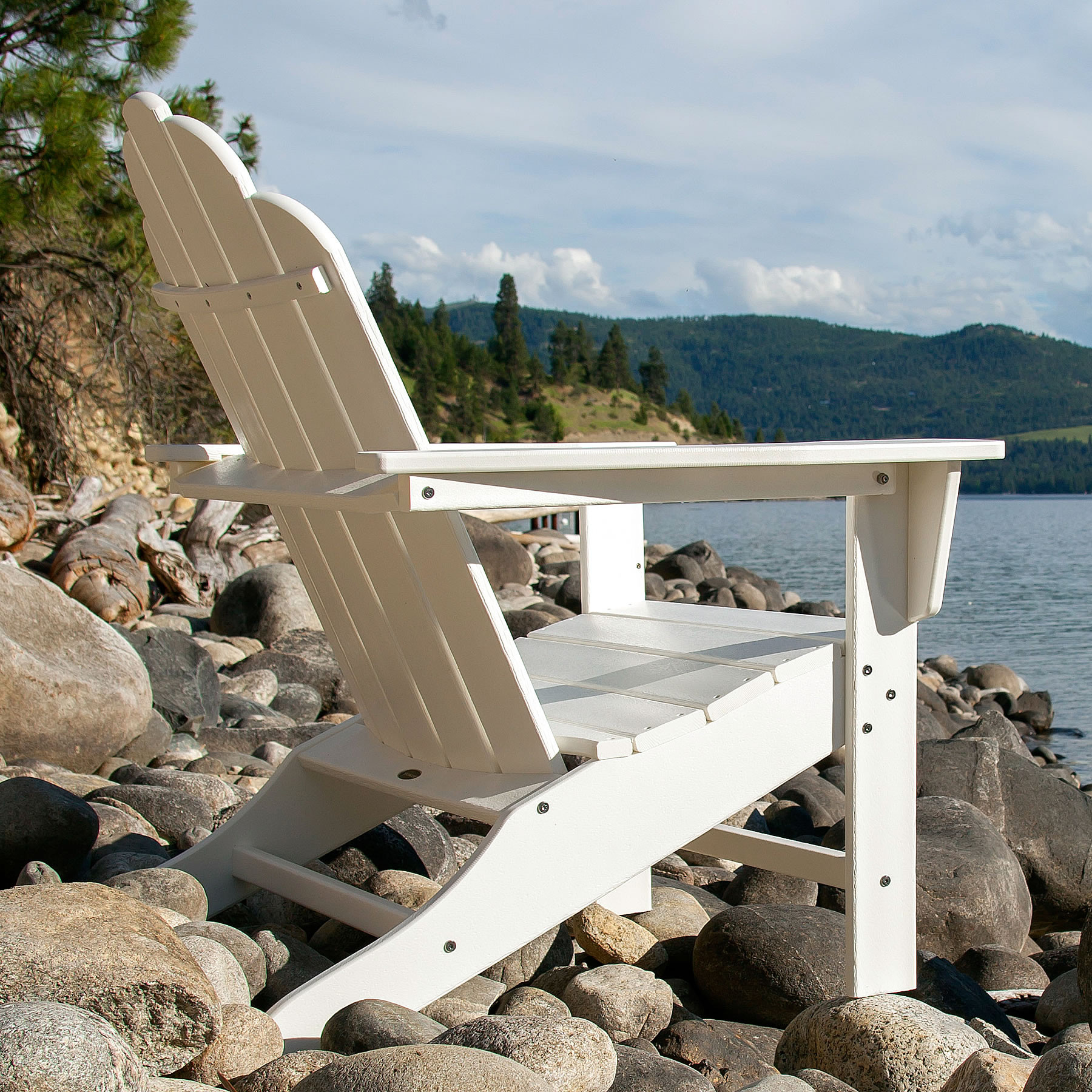 Polywood 174 Long Island Adirondack Chair Long Island