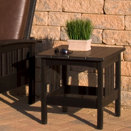 POLYWOOD Mission 22 x 24 In Side Table