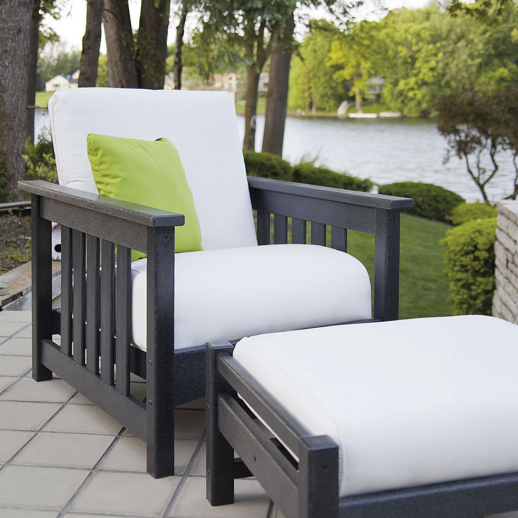 Polywood Mission Chair Collection Outdoor Furniture Collections