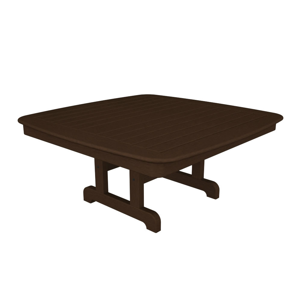 POLYWOOD Nautical 44in Conversation Table