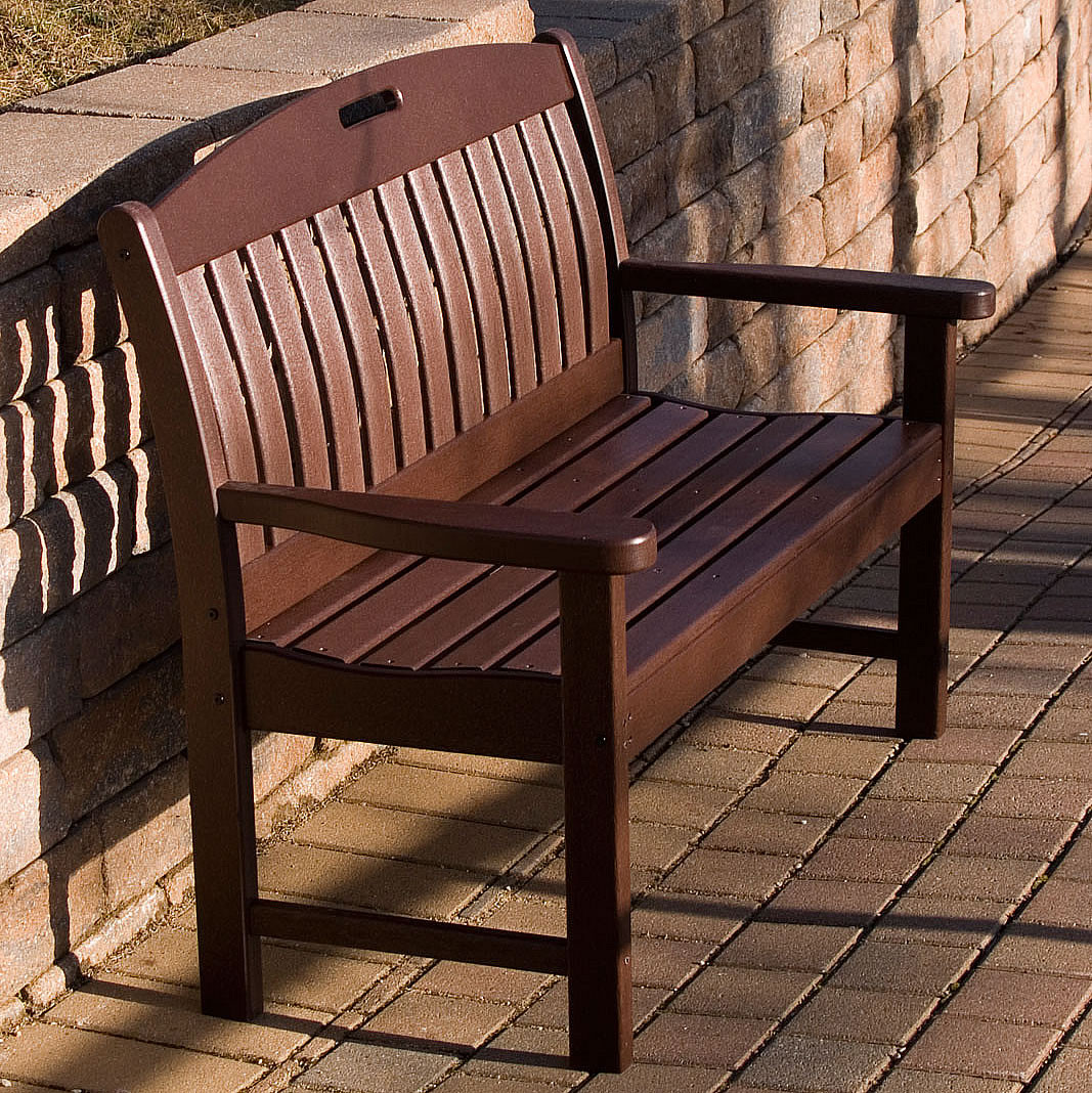 for throughout designs idea brushed home furniture buy bedroom aluminum your polywood bench with