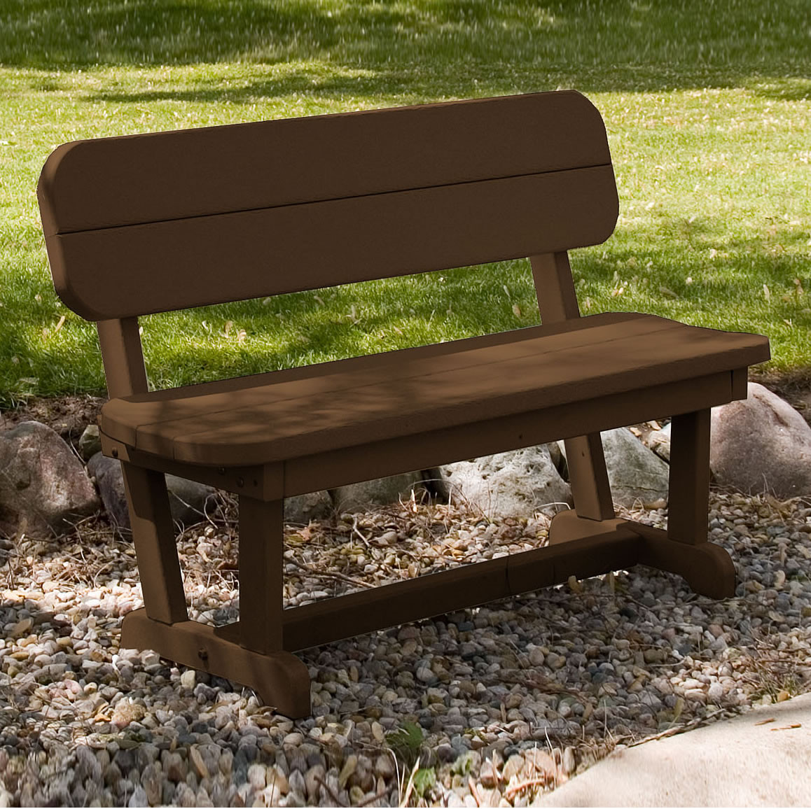 wood benches outdoor poly garden com polywoodfurniture bench polywood chippendale