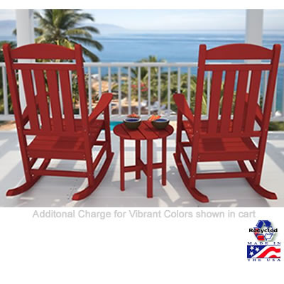 POLYWOOD® Presidential Rocker Set