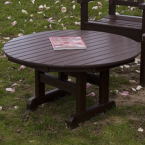 POLYWOOD Round 36 in or 48 in Conversation Table