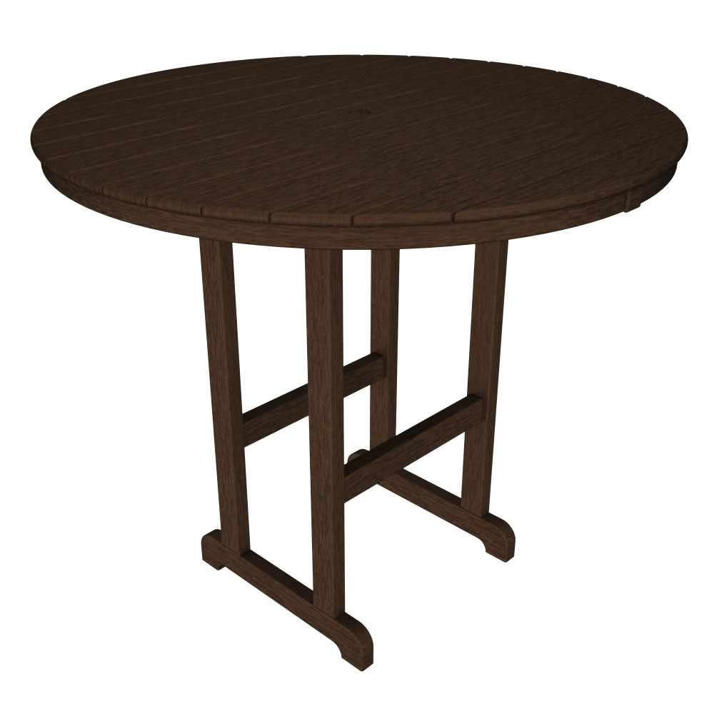 POLYWOOD Round 48 In Bar Table