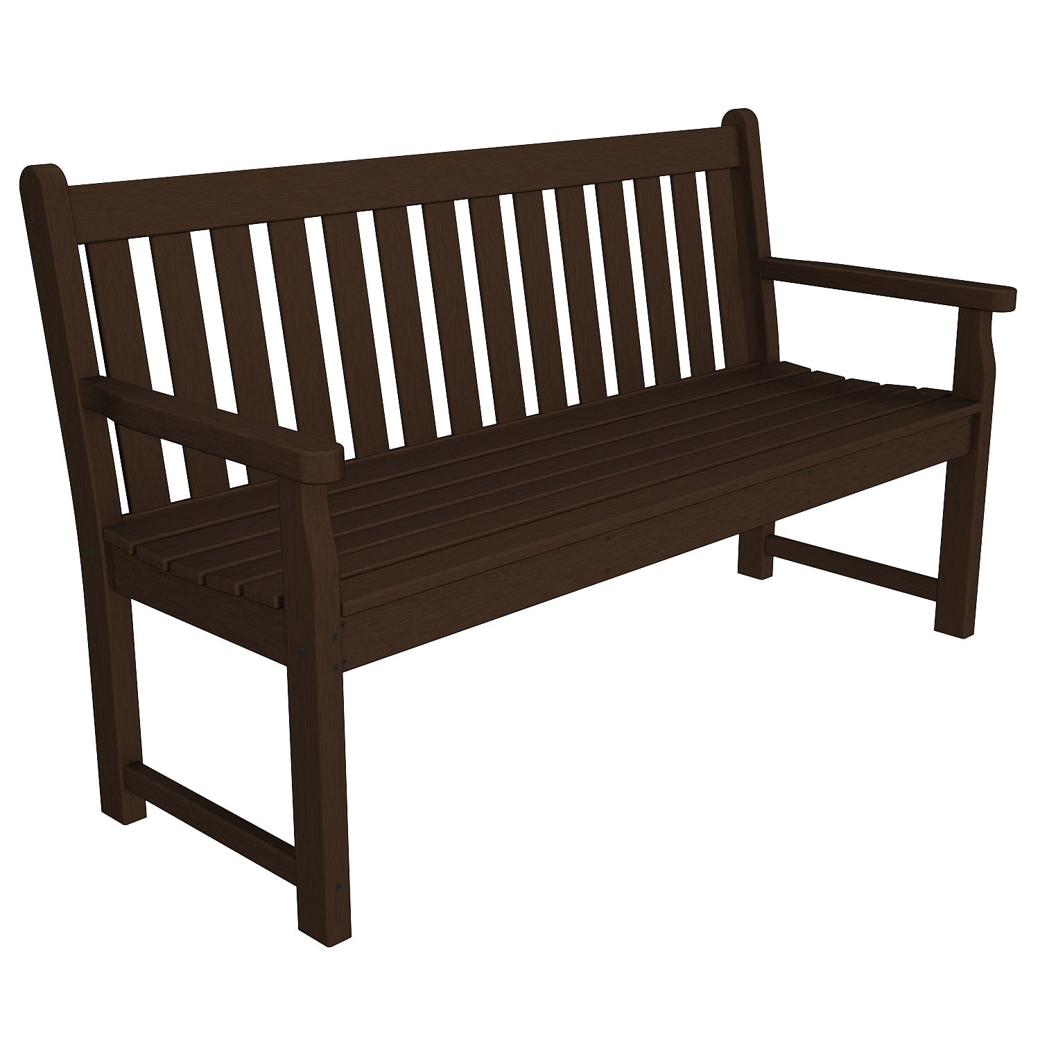 Garden Furniture Traditional polywood traditional garden 60 in bench - traditional garden
