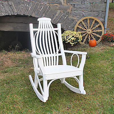Recycled Poly Lumber Poly Bent Rocker