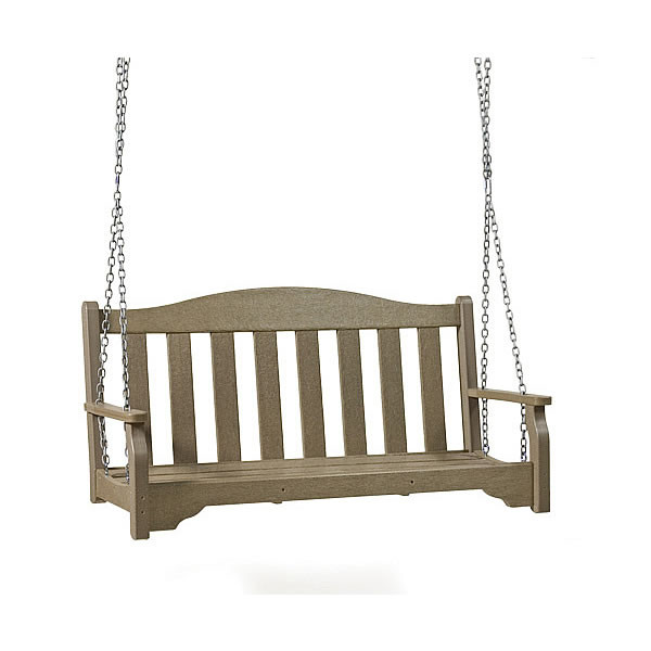 Recycled Poly Lumber Quest Bench Swing