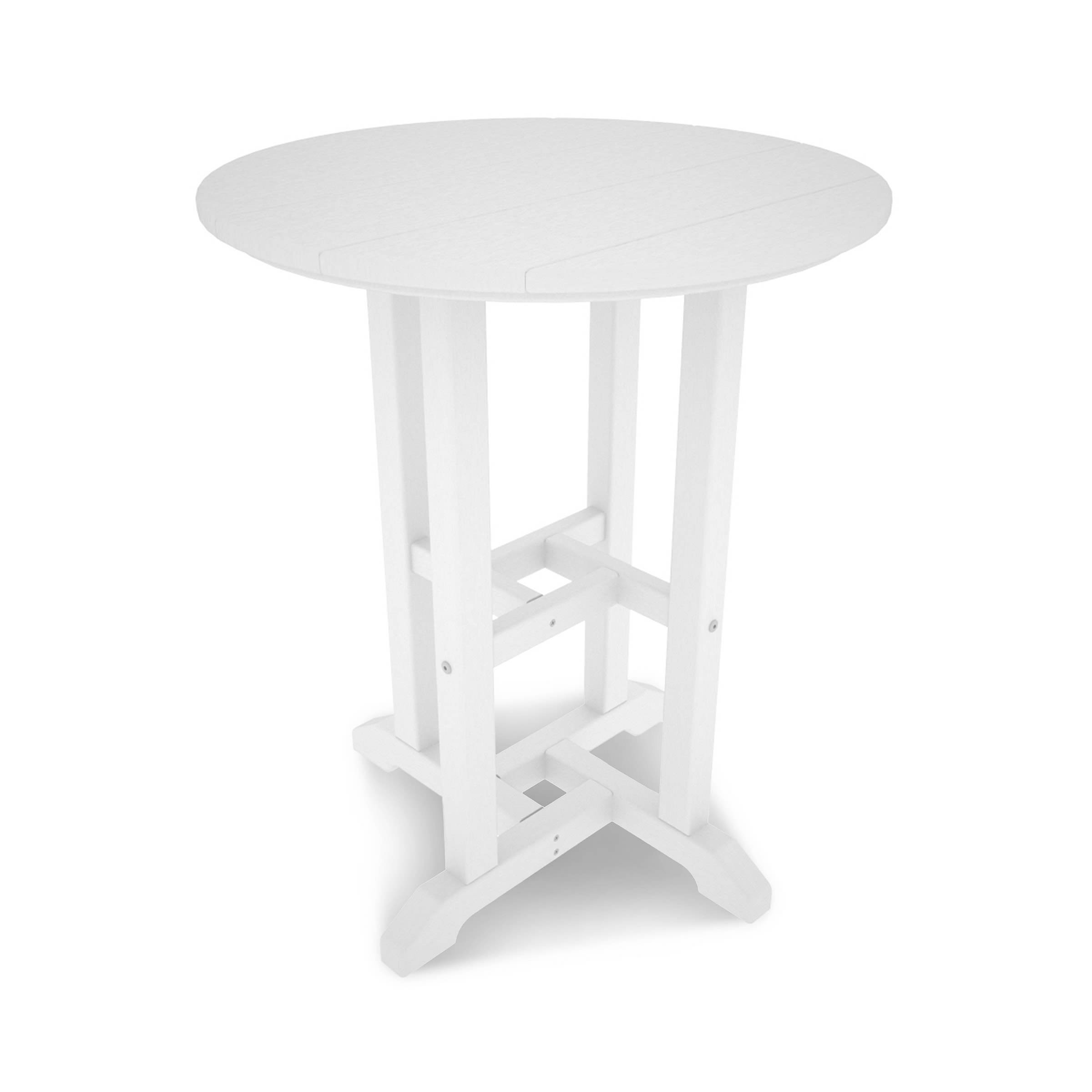 POLYWOOD Traditional 24in Round Dining Table