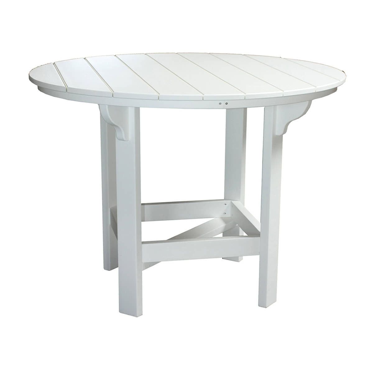 Amish Poly 48in Round Balcony Table