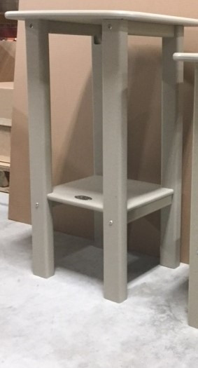 Perfect Choice Bar Height Side Table