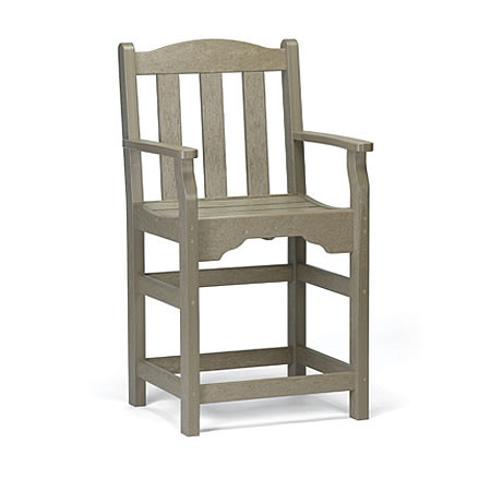 Siesta Recycled Poly Lumber Bistro Quest Chair