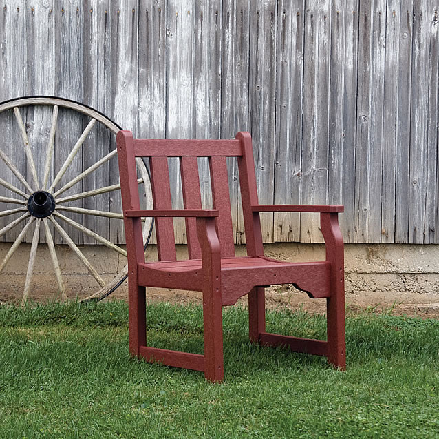Siesta Recycled Poly Lumber Classic Garden Chair