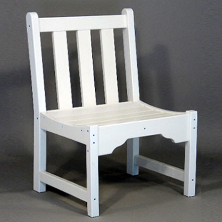 Siesta Recycled Poly Lumber Classic Park Chair