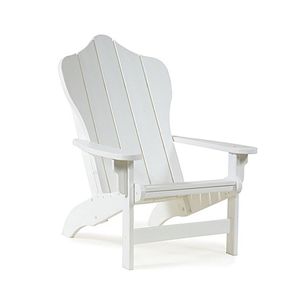 Siesta Recycled Poly Lumber Hampton Adirondack Chair