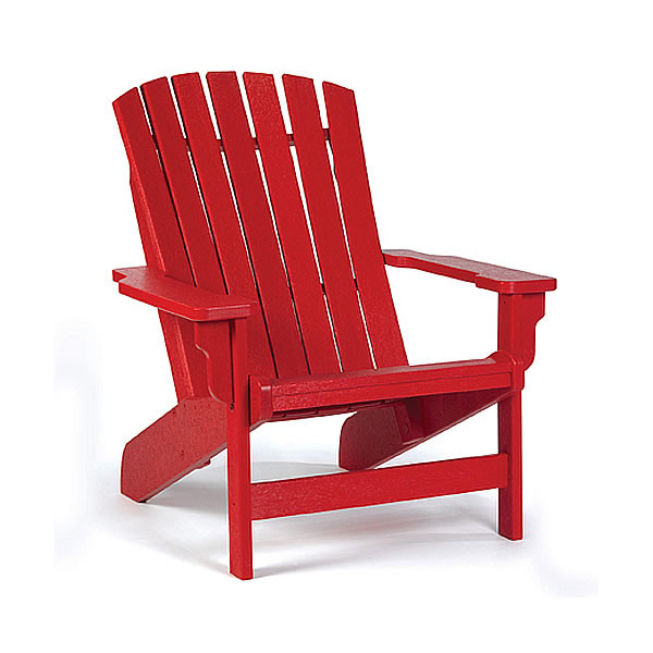 Siesta Recycled Poly Lumber Westport Adirondack Chair