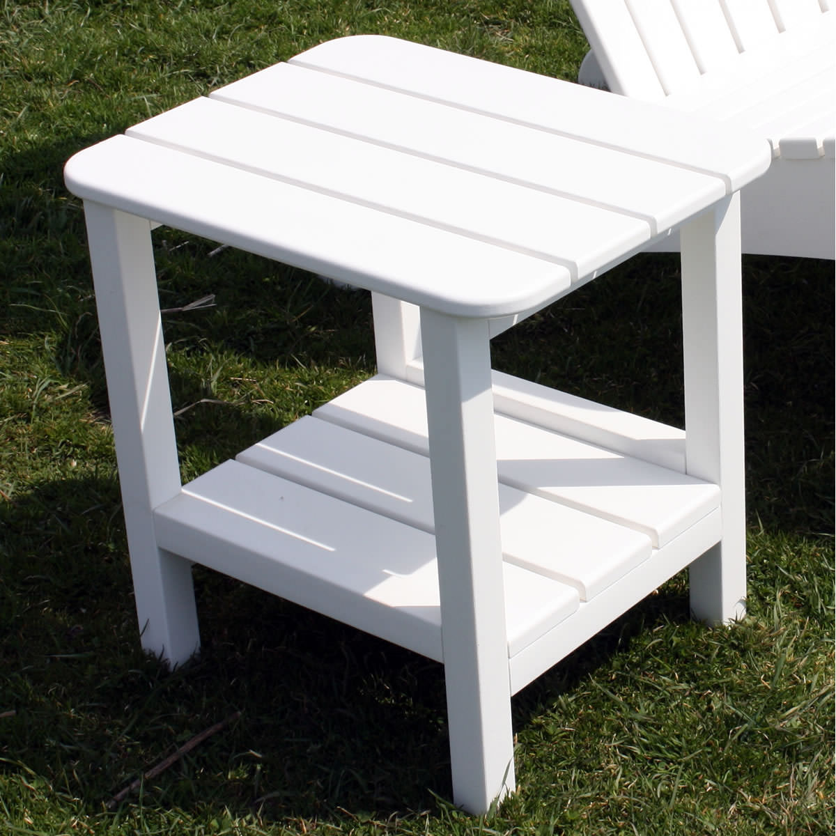 Sister Bay Rectangular End Table - 15 x 19 inch