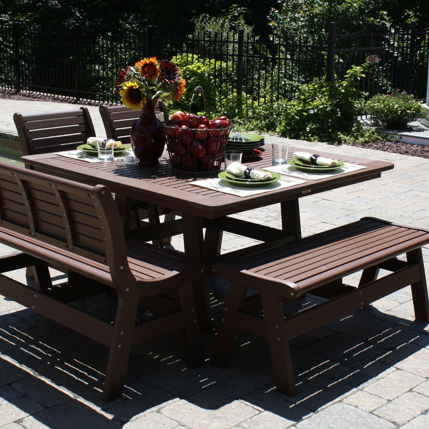 Sister Bay Newport 55 in Dining Table