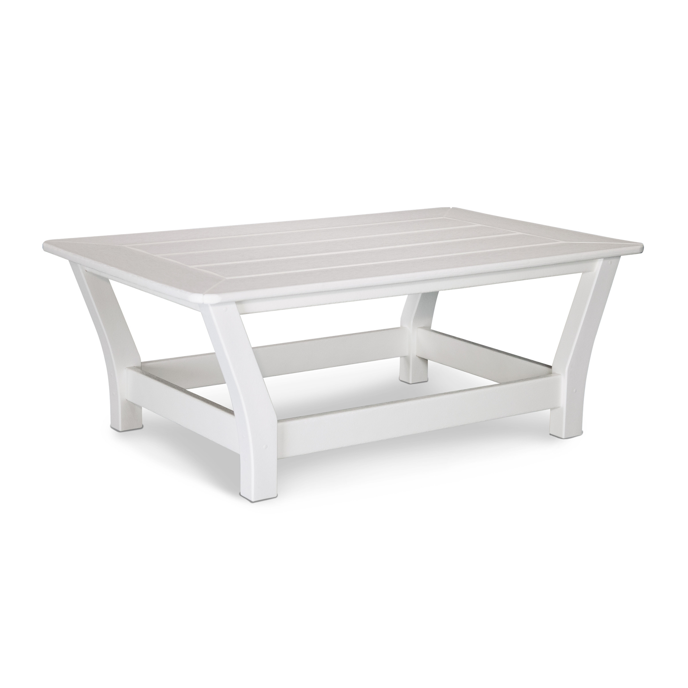 Polywood Harbour Slat Coffee Table Harbour Deep Seating Collection Polywood Outdoor