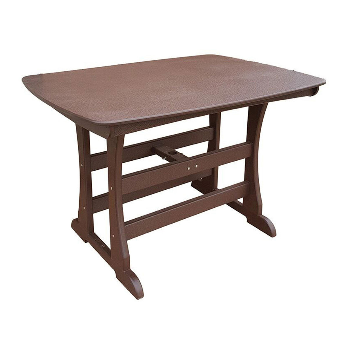 "Perfect Choice Traditional 56"" Counter Height Table"