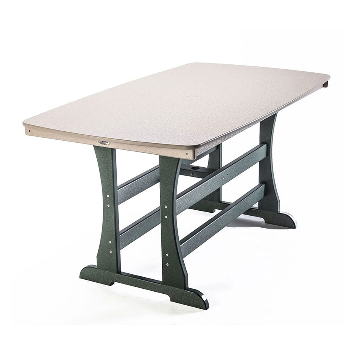 "Perfect Choice Traditional 72"" Counter Height Table"
