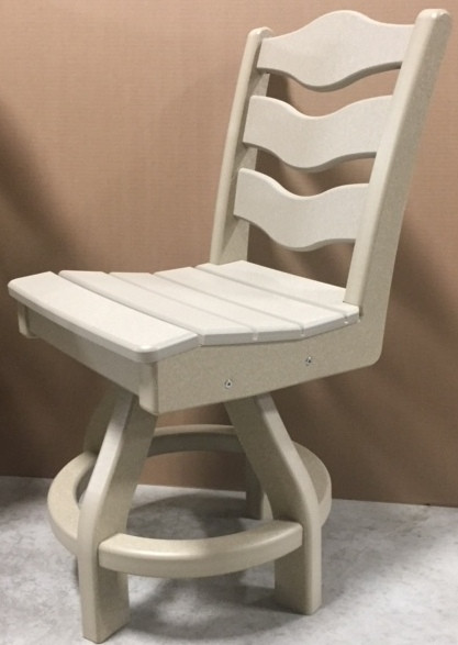 Perfect Choice Traditional Swivel Dining Chair