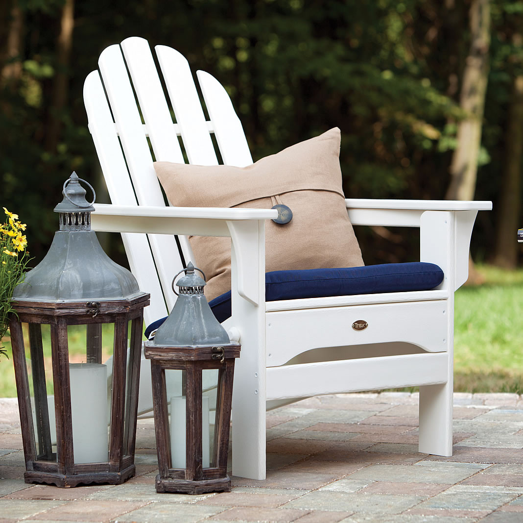 Elegant Trex® Outdoor Furniture Cape Cod Folding Adirondack Chair