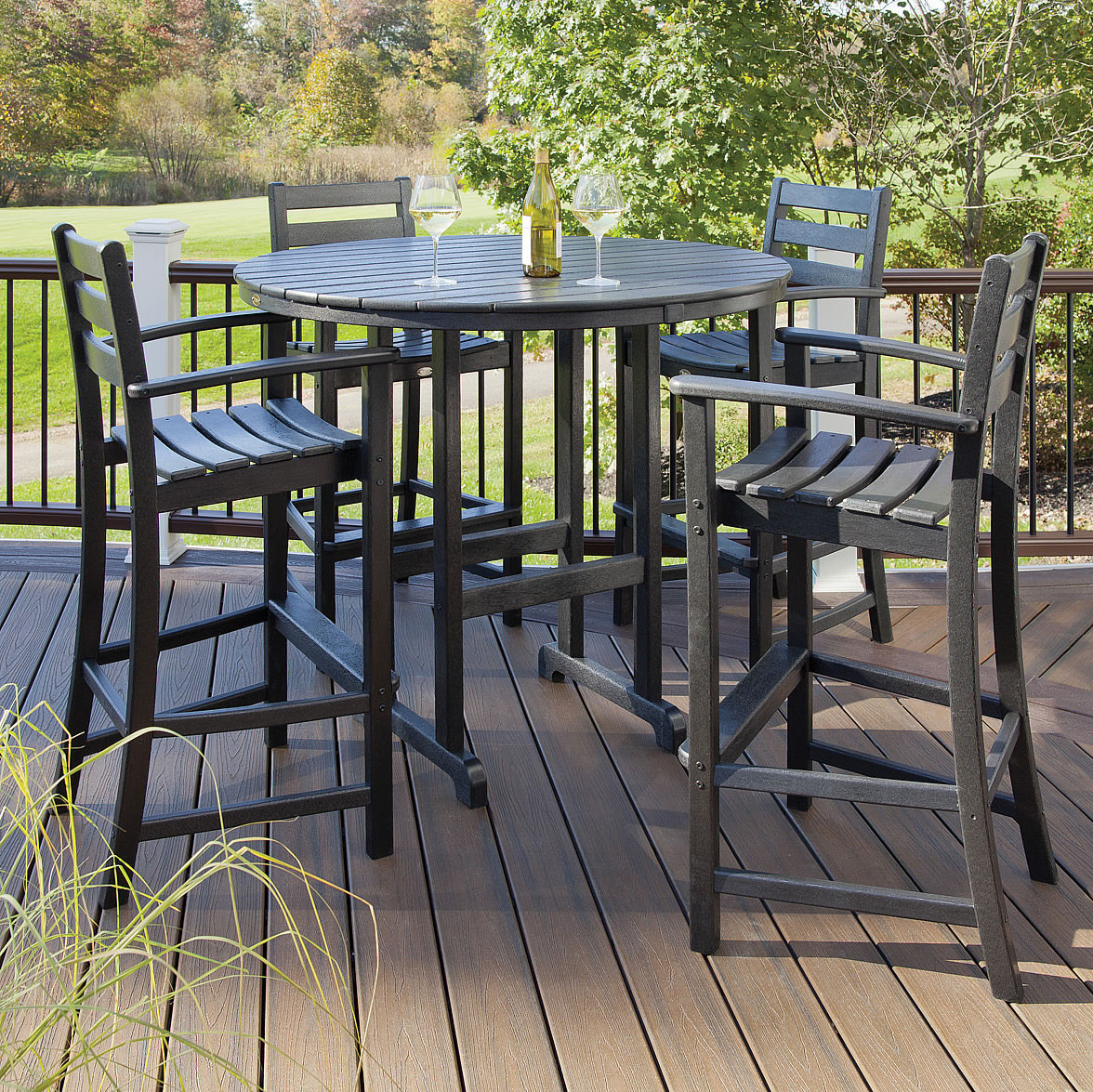 Trex® Outdoor Furniture Monterey Bay 5 Piece Bar Set