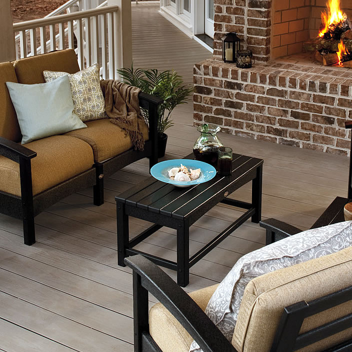 Trex® Outdoor Furniture Rockport Club Coffee Table