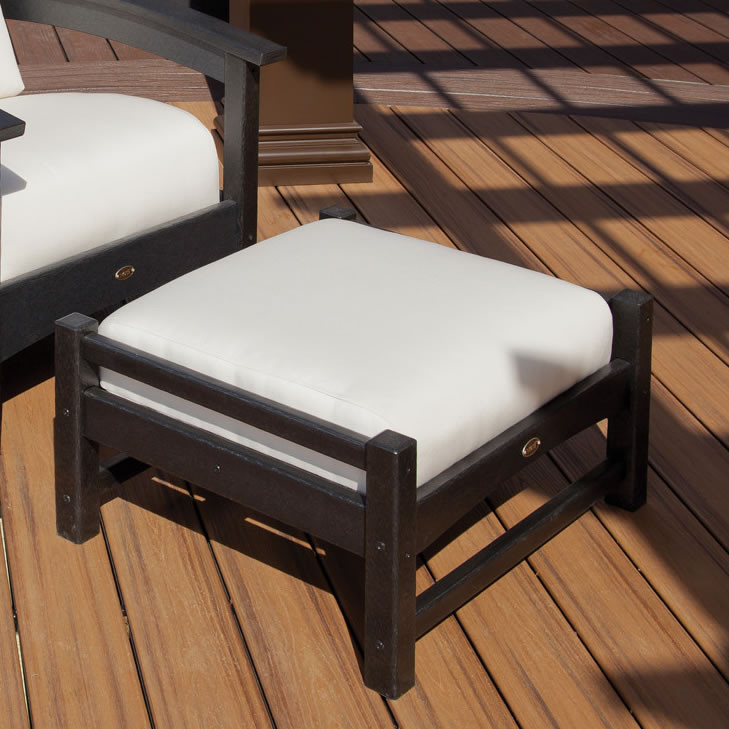 Trex® Outdoor Furniture Rockport Club Ottoman