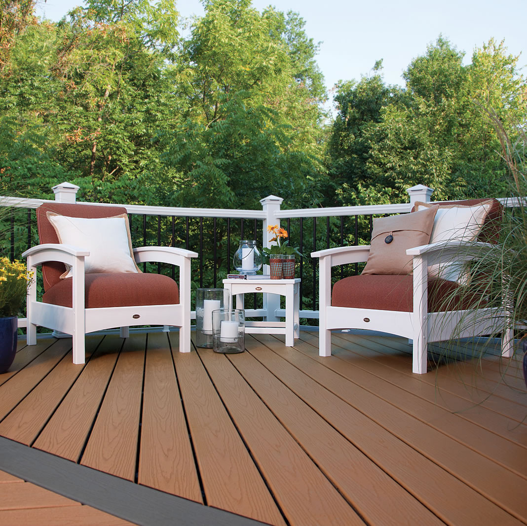 Trex® Outdoor Furniture Rockport Club Seating Set
