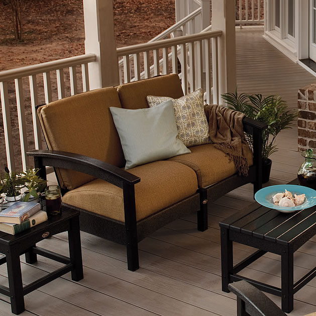 Trex Outdoor Furniture Rockport Club Settee Rockport Trex