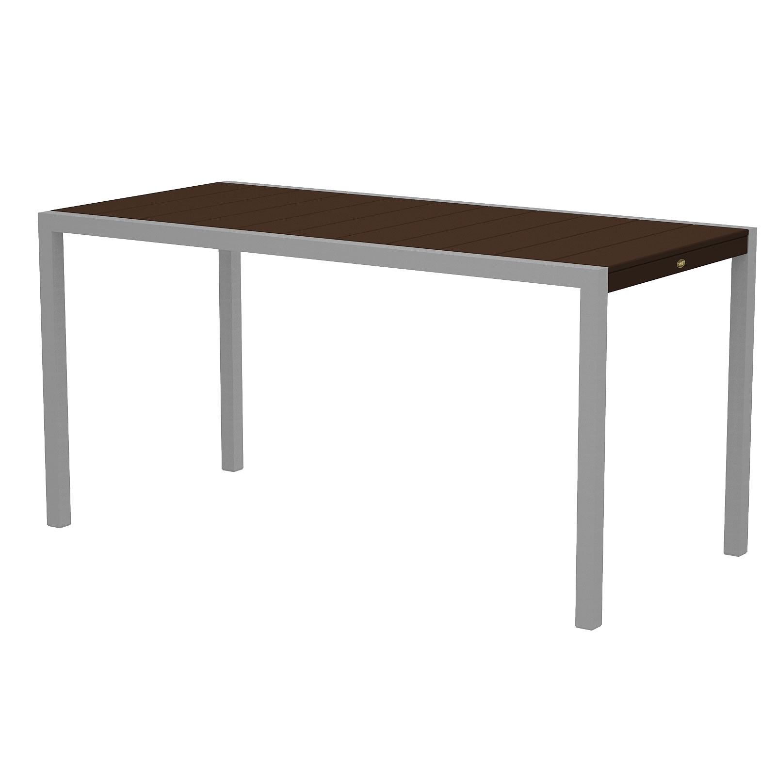Trex® Outdoor Furniture Surf City 36 x 73 in Bar Table