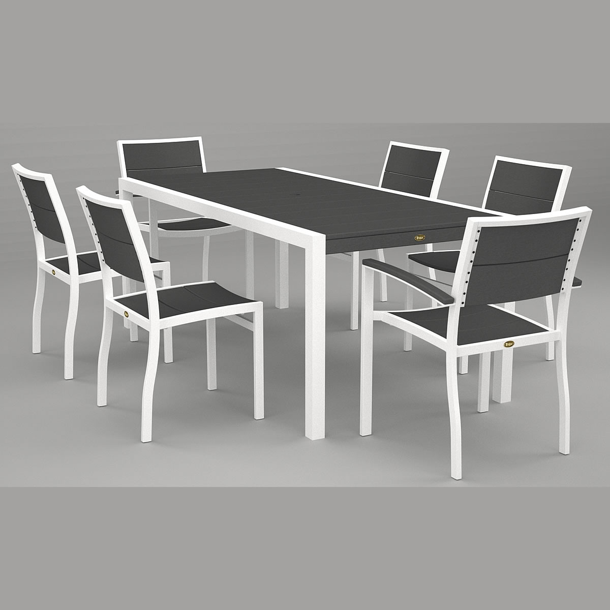 Trex® Outdoor Furniture Surf City 36 x 73 In Dining Table