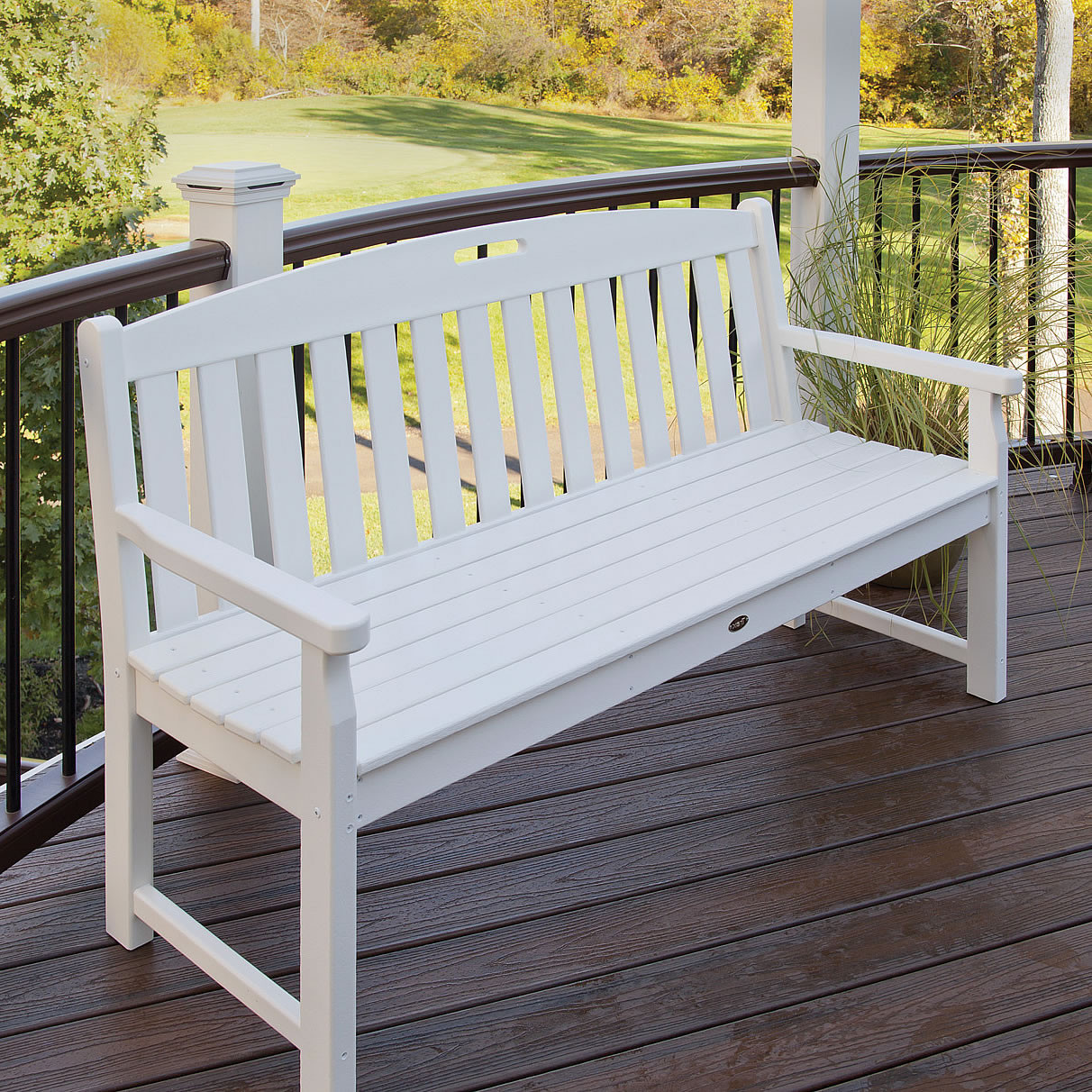 Trex 174 Outdoor Furniture Yacht Club 60 In Bench Yacht