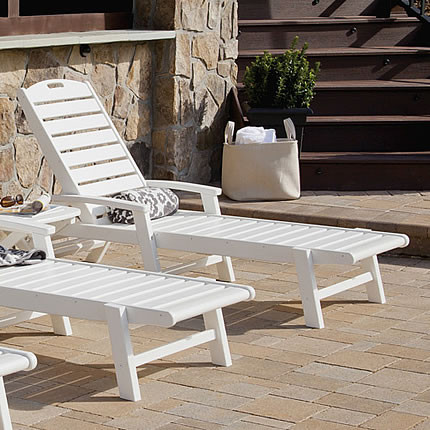 Trex® Outdoor Furniture Yacht Club Chaise Lounge
