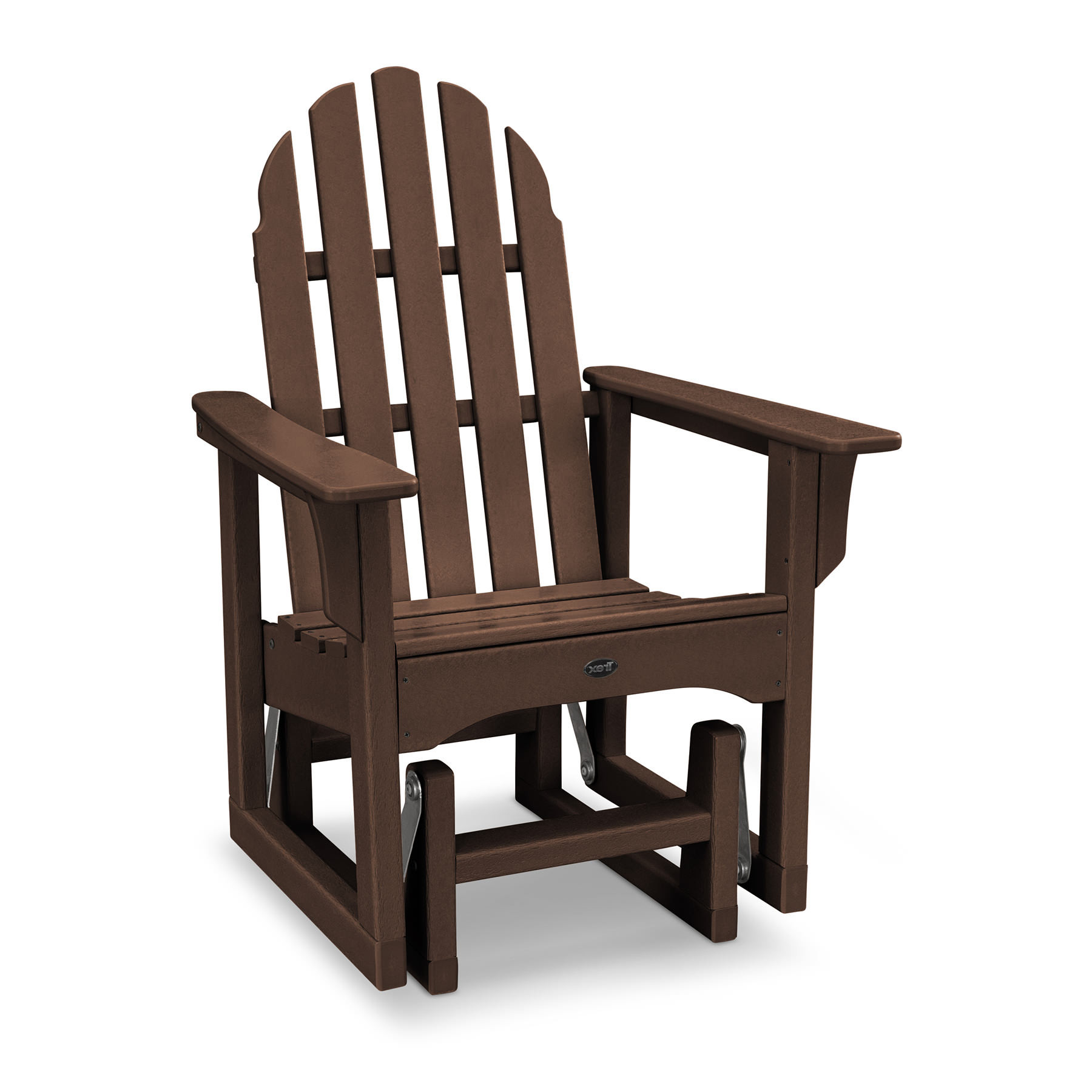 Trex Outdoor Furniture Cape Cod 3-Piece Adirondack Chair Set with Side Table