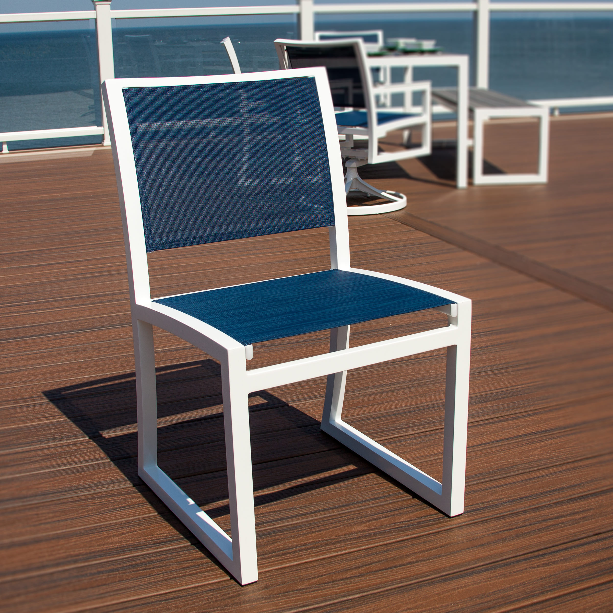 Trex® Outdoor Furniture Cube Dining Side Chair