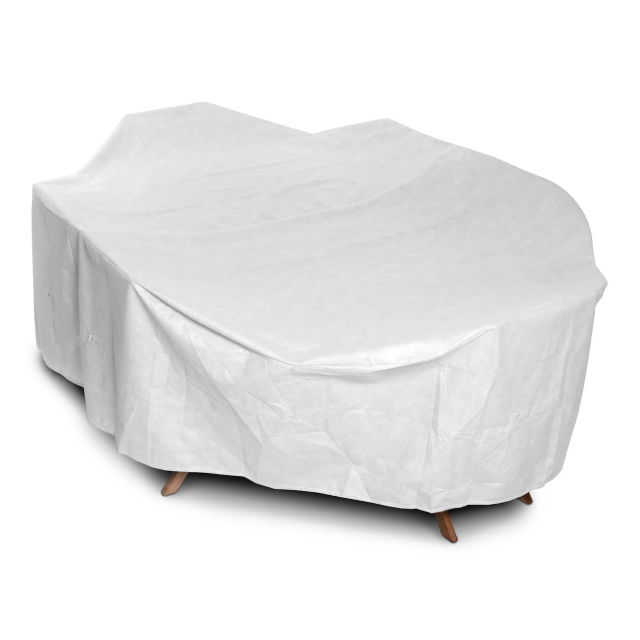 KoverRoos Tyvek Oval/Rectangle Dining Set Cover