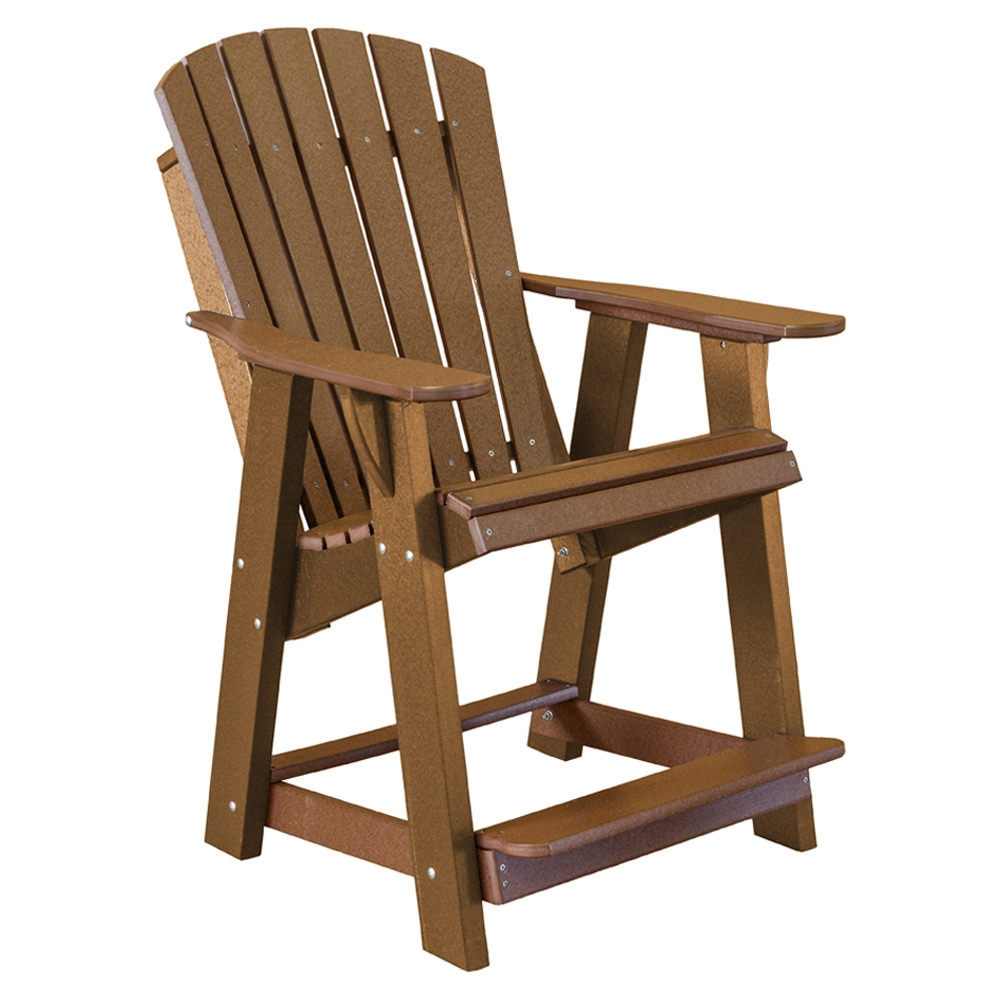 Pleasing Wildridge Heritage High Adirondack Chair Poly Adirondack Andrewgaddart Wooden Chair Designs For Living Room Andrewgaddartcom