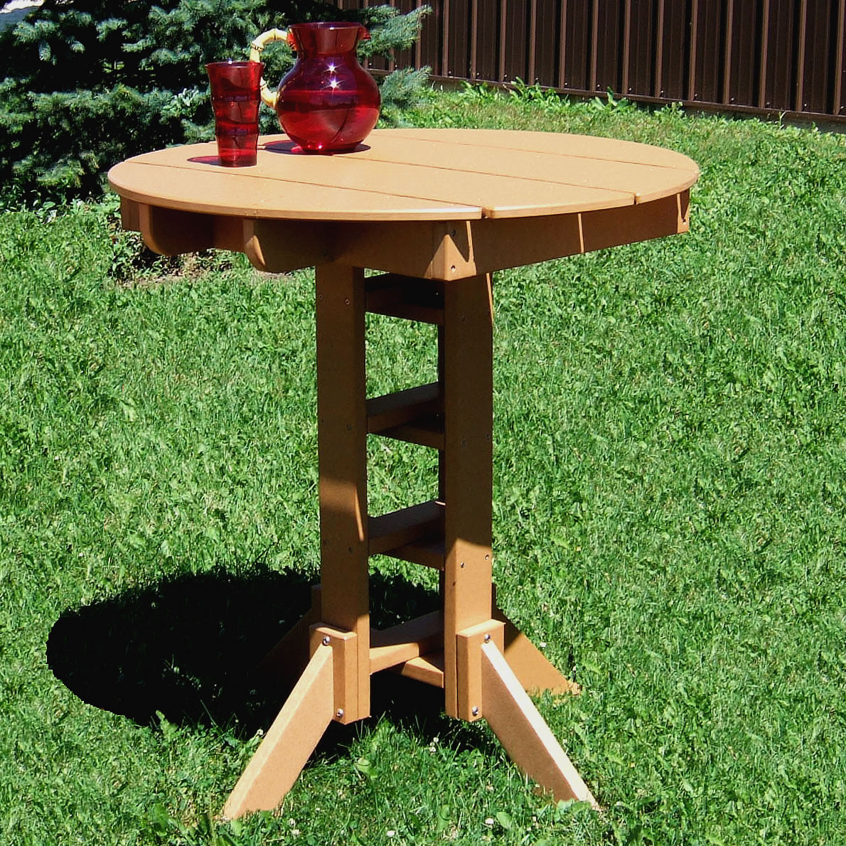 Wisconsin Round Pub Table