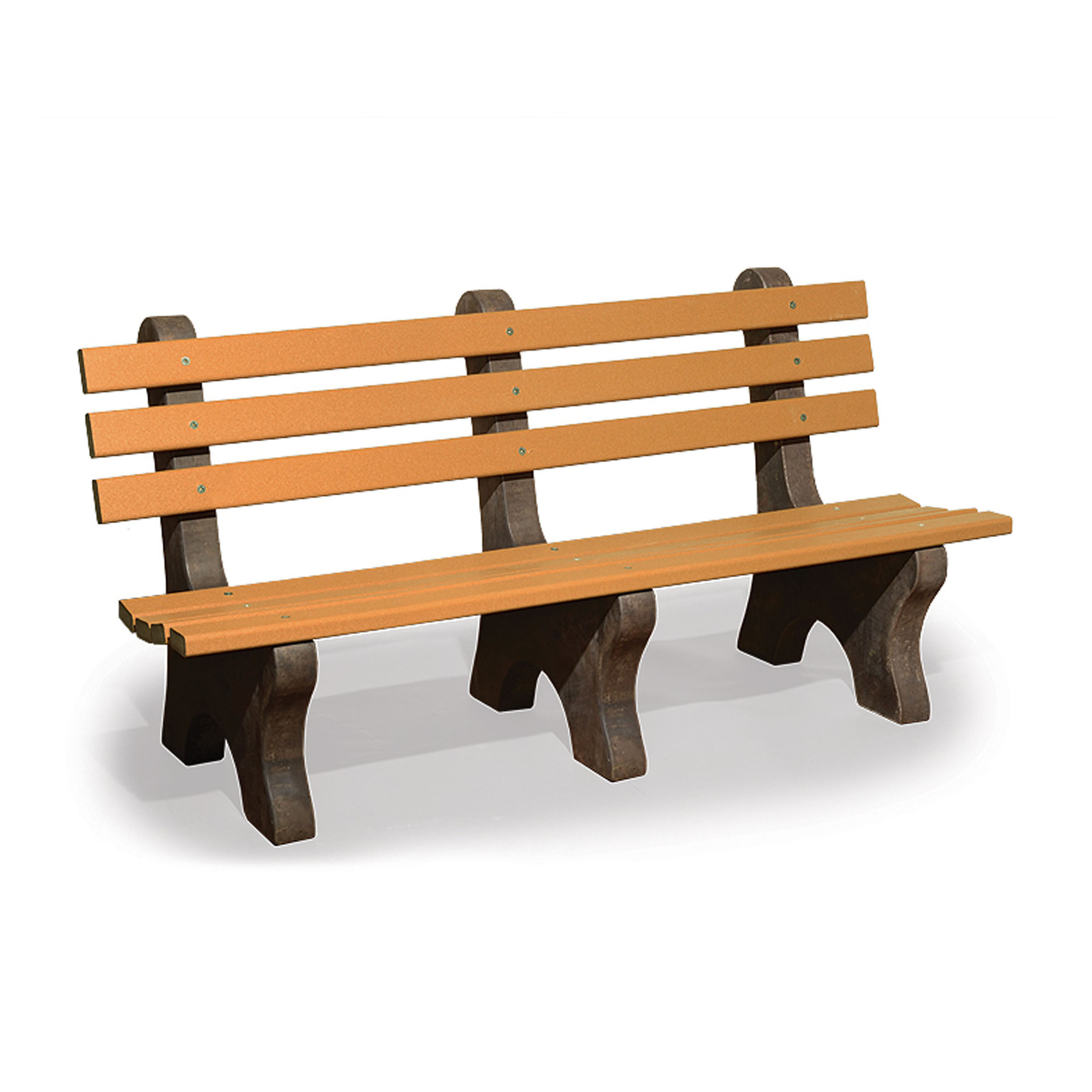 Amish Poly Wood 6 Park Bench