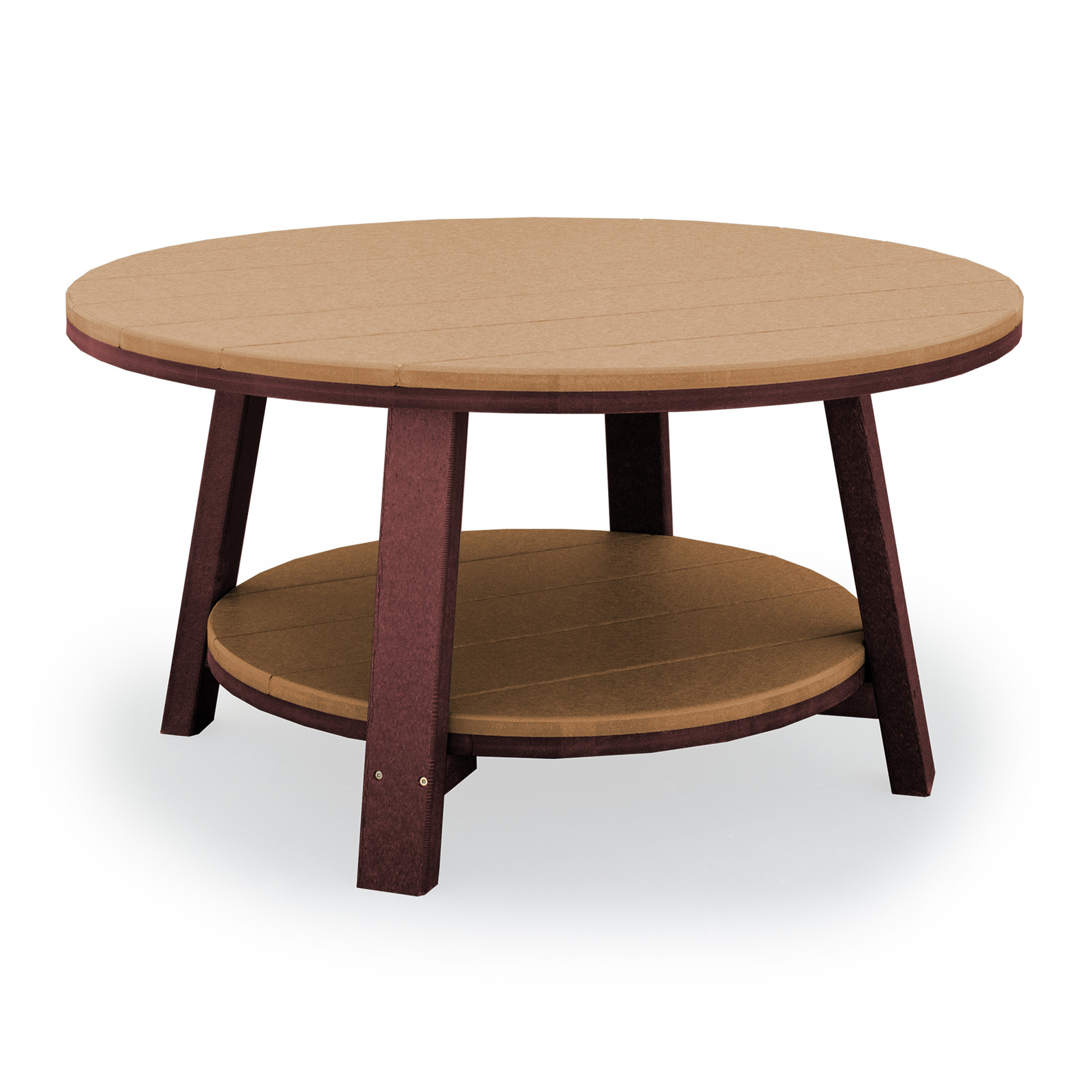Finch Amish Poly SeaAira 38in Conversation Table