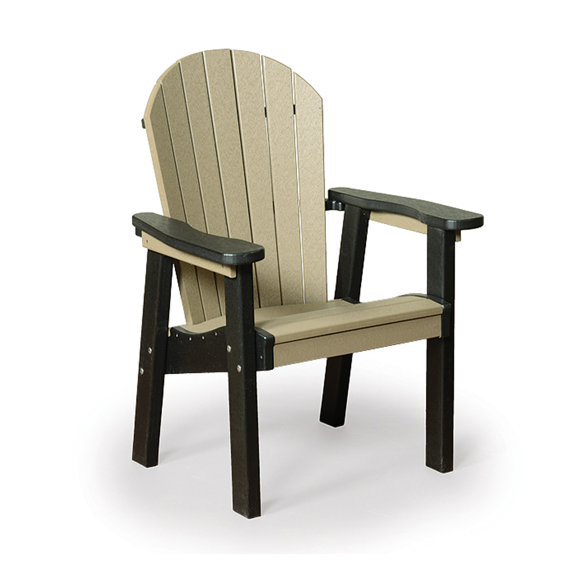 Finch Amish Poly Great Bay Adirondack Dining Chair