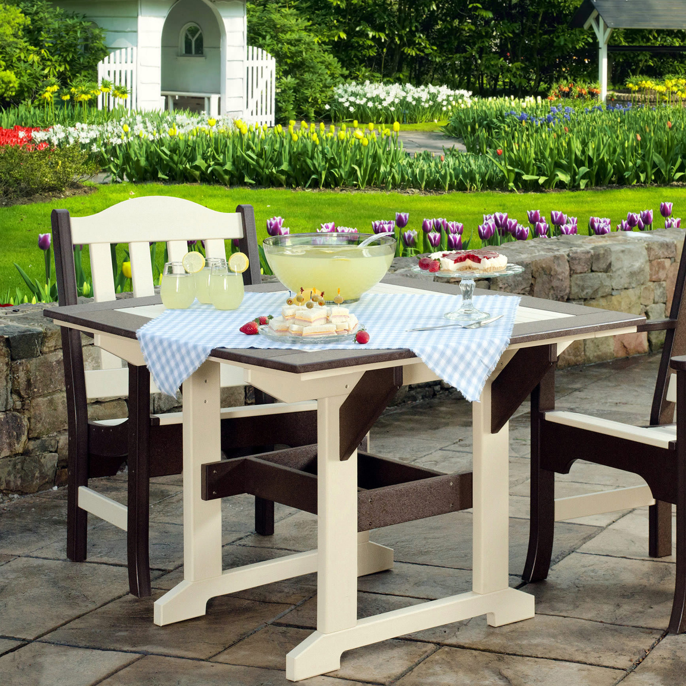 Amish Poly Wood 43in x 43in Great Bay Table