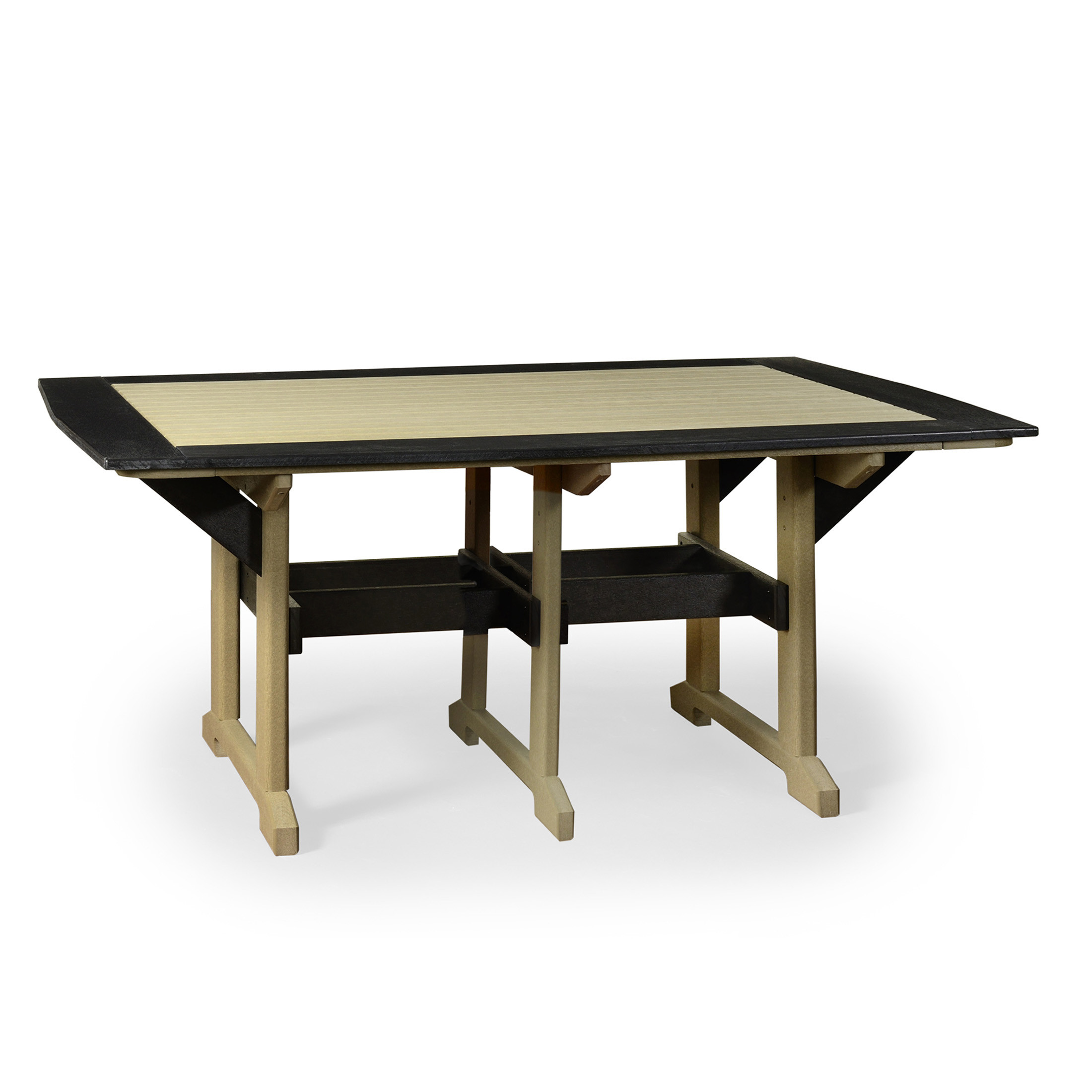 Amish Poly 43 in x 60 in Great Bay Table