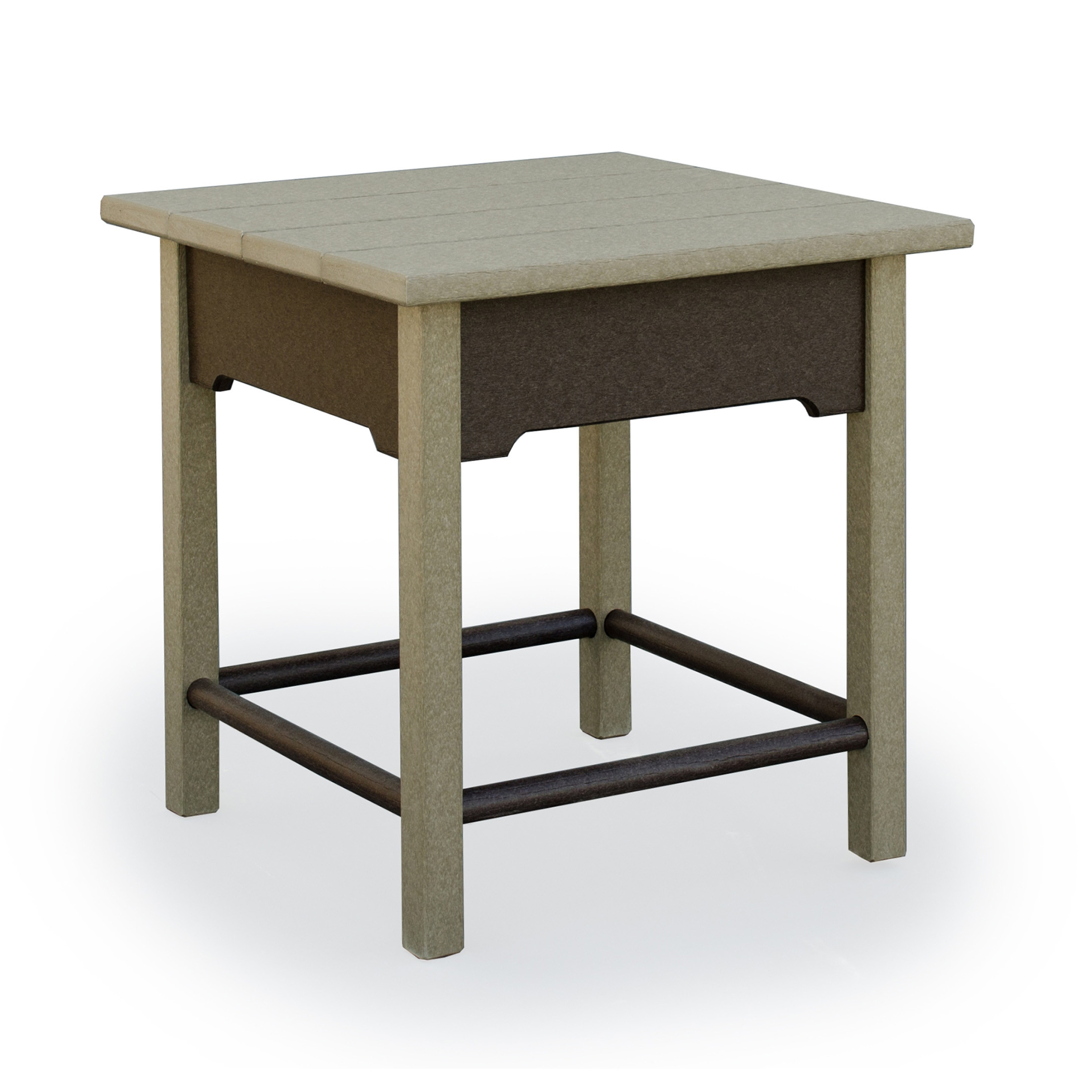 Amish Poly Wood Van Buren End Table