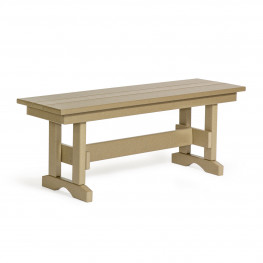 Amish Poly 42 in Dining Bench