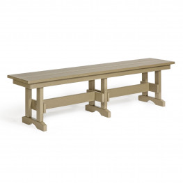 Amish Poly 6 ft. Dining Bench