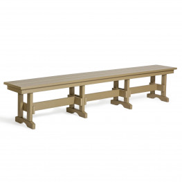 Amish Poly 8 ft. Dining Bench
